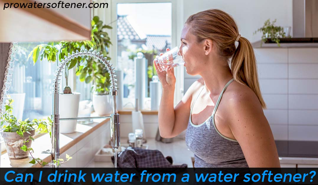 drinking soft water